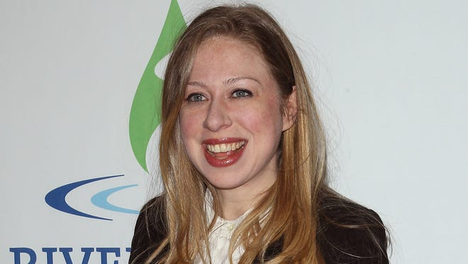 Chelsea Clinton attends the 2014 Riverkeeper Fishermen's Ball at Pier Sixty at Chelsea Piers on April 29.