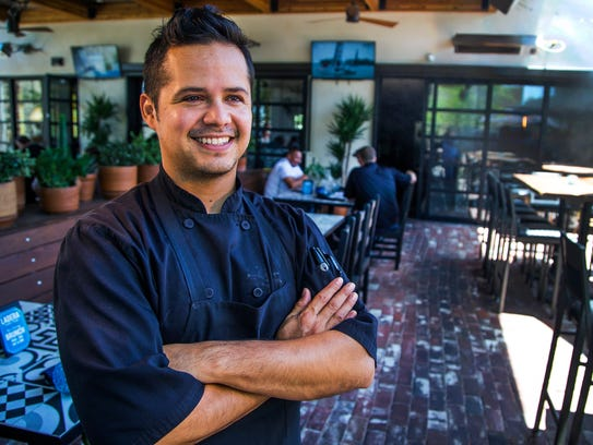 Jorge Gomez Aguilar is the executive chef of the Ladera