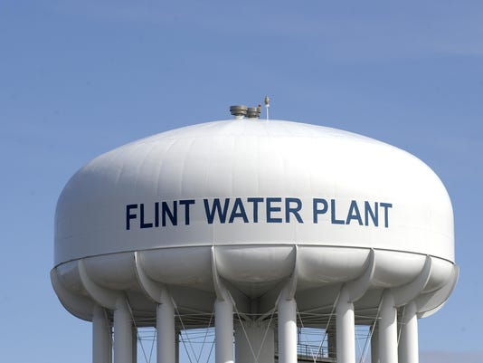 file -- flint water tower