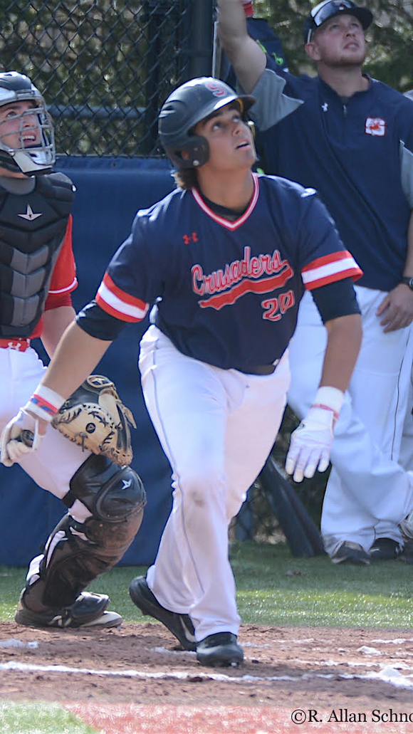 Stepinac senior Richie Rodriguez will be a middle-of-the-order bat and staff ace for the Crusaders in 2018.