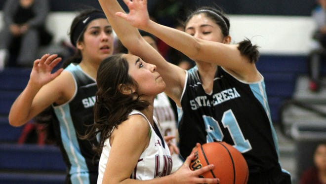 Sophomore Lady Cat Valerie Lopez is the catalyst for the Lady Cat running game. What the Deming High girls will be looking for in 2016 is for more leaders to step up and produce.