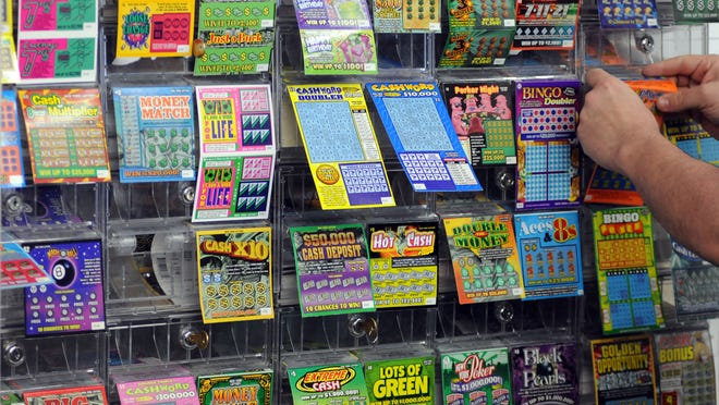 New York State Lottery scratch off tickets for sale.