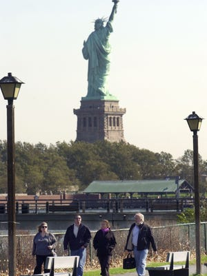 The National Park Service is the inspiration for this year's Flower Show. Liberty State Park will be highlighted.