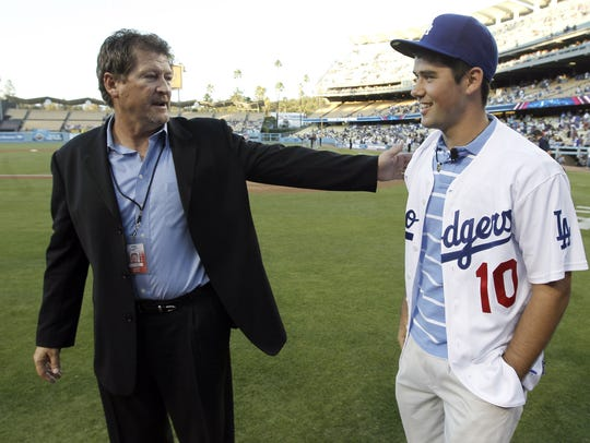 Los Angeles Dodgers assistant general manager Logan