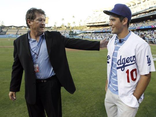 Los Angeles Dodgers assistant general manager Logan