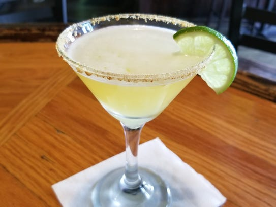 The Key Lime Pie Martini from Hailey's Harp and Pub.