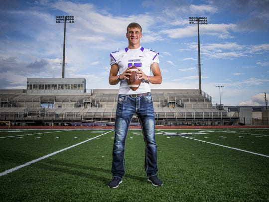 Brownsburg's Hunter Johnson is one of the nation's highest-rated quarterbacks.