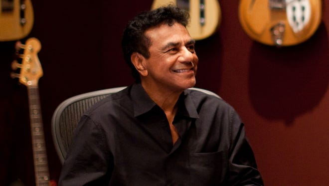 Iconic singer Johnny Mathis released his debut album in 1956.