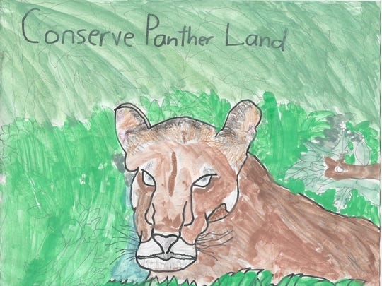 """Joey Jesse took honorable mention in the 11-12 category of 12th Annual Children's Art Contest """"Coloring the Earth."""""""