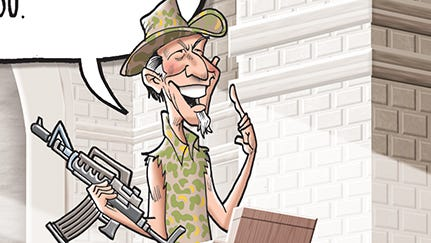Ted Nugent claims he's a changed man