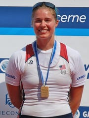 In 2013, Taylor Goetzinger raced with Ithaca College graduate Meghan Musnicki in a two-person boat at the World Cup in Switzerland, winning a bronze medal.