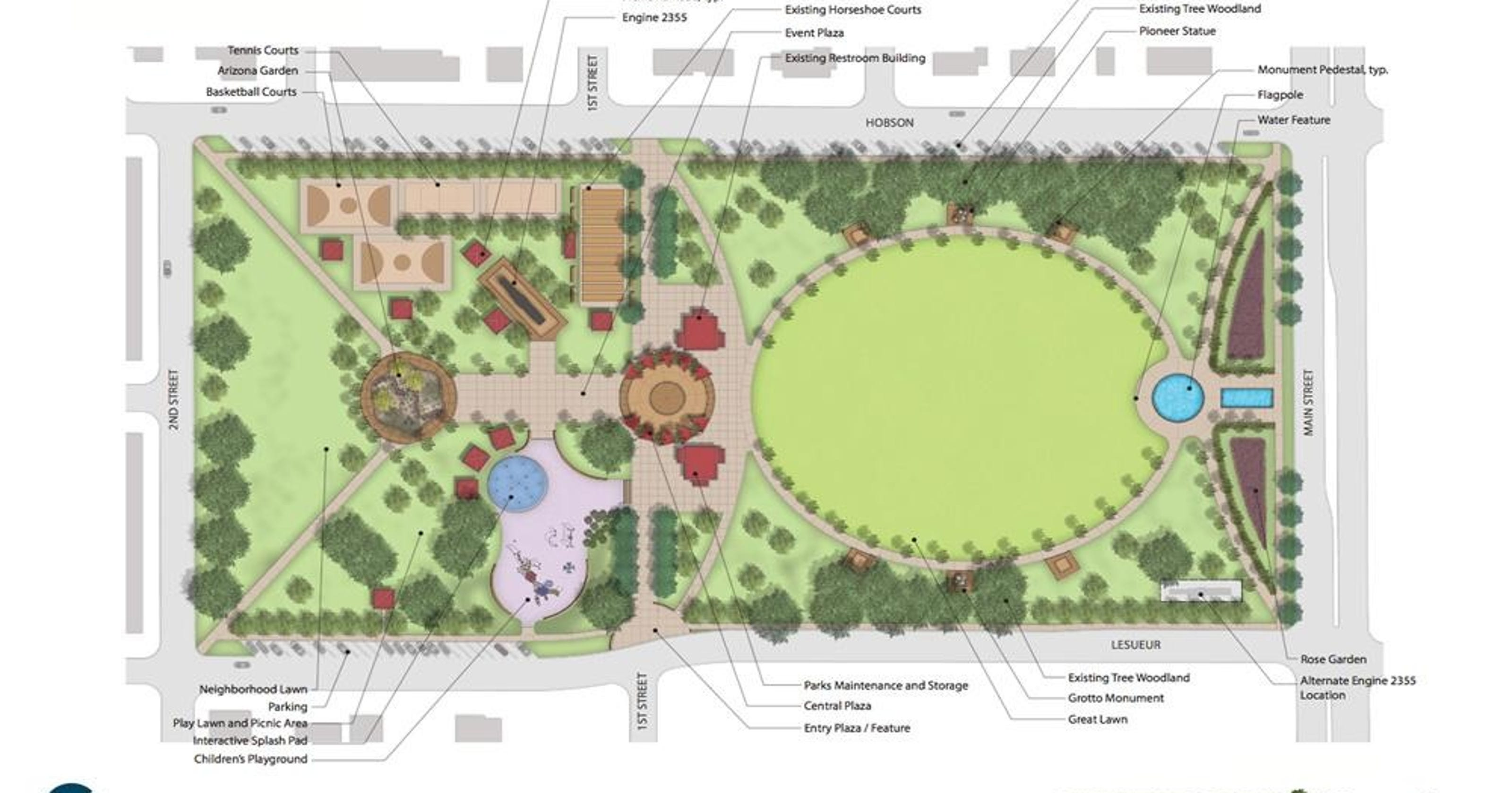eb5dad0ac9 Pioneer Park makeover takes shape