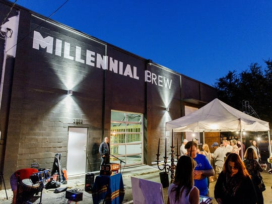 Millennial Brewing Co., downtown Fort Myers' first craft brewery, will hold its grand-opening celebration Saturday.