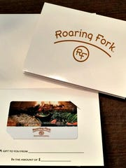 Roaring Fork | Purchase a $100 gift card for this stylish restaurant with a hint of Southwest charm and get a $20 bounce back card or purchase a $50 gift card for a $10 bounce back card through Dec. 31,  Details: 4800 N. Scottsdale Road, Scottsdale, 480-947-0795, roaringfork.com.