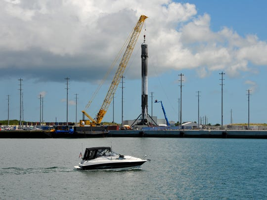 This Falcon 9 booster, which was successfully landed