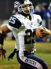 Lakota's Trevor Franks has 13 rushing touchdowns.