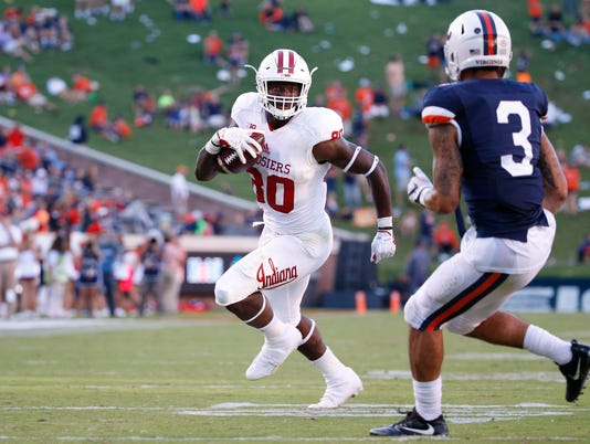 NCAA Football: Indiana at Virginia