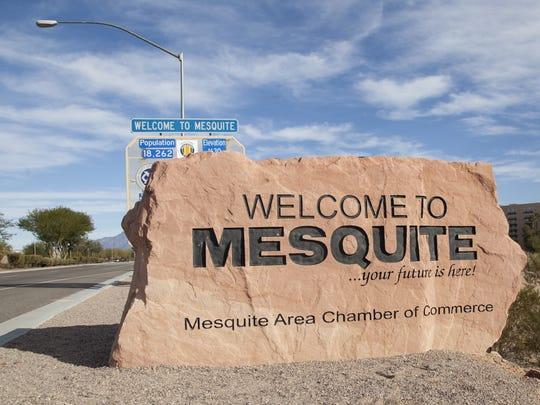 Mesquite Nev. Wednesday, Dec. 2, 2015.
