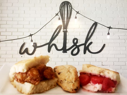 Whisk will feature gourmet breakfast biscuits called