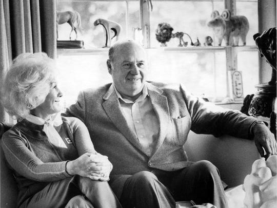 Hellen Murphy Mapes, left, and Charles W. Mapes Jr. in this August 1986 file photograph. Photo by Lance Iverson/RGJ.