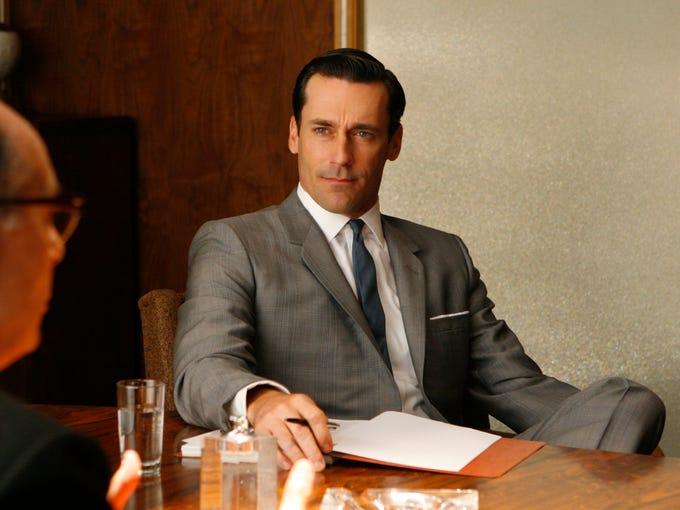"Don Draper (Jon Hamm) in Season 1 of ""Mad Men."""