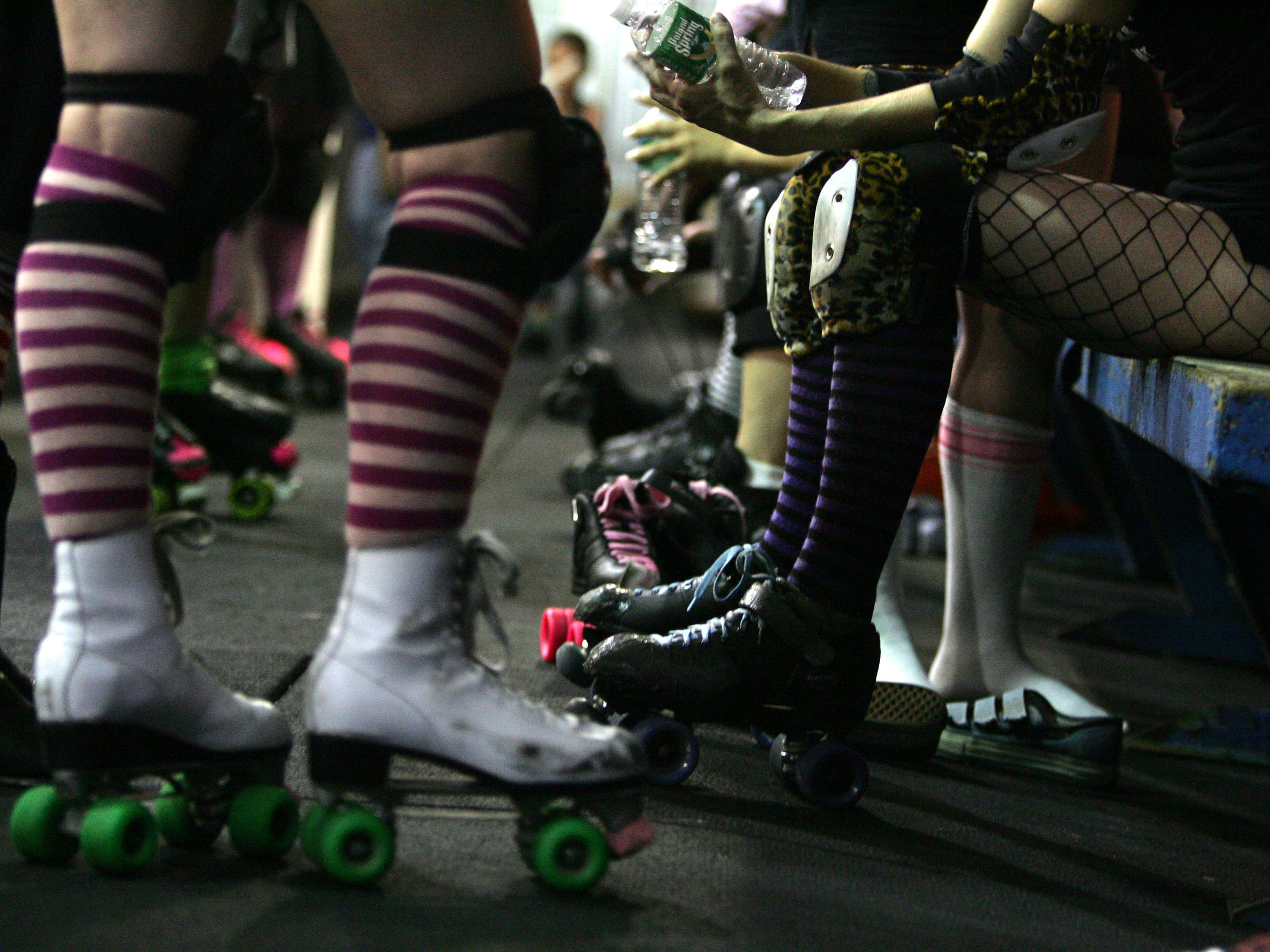 """""We are more than just a team. We are a family,"" says Amber Muller of Suburbia Roller Derby."