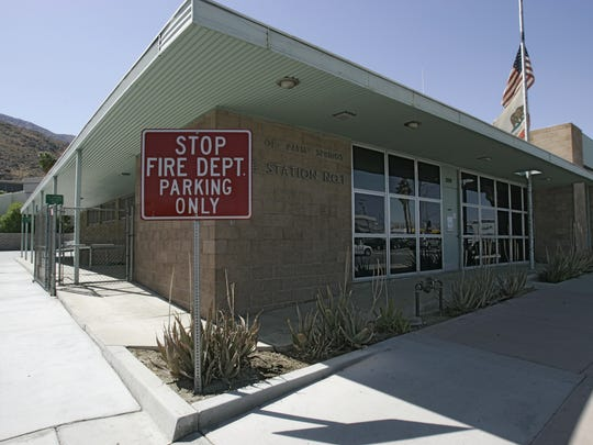 The exterior of the City of Palm Springs Fire Station No. 1.