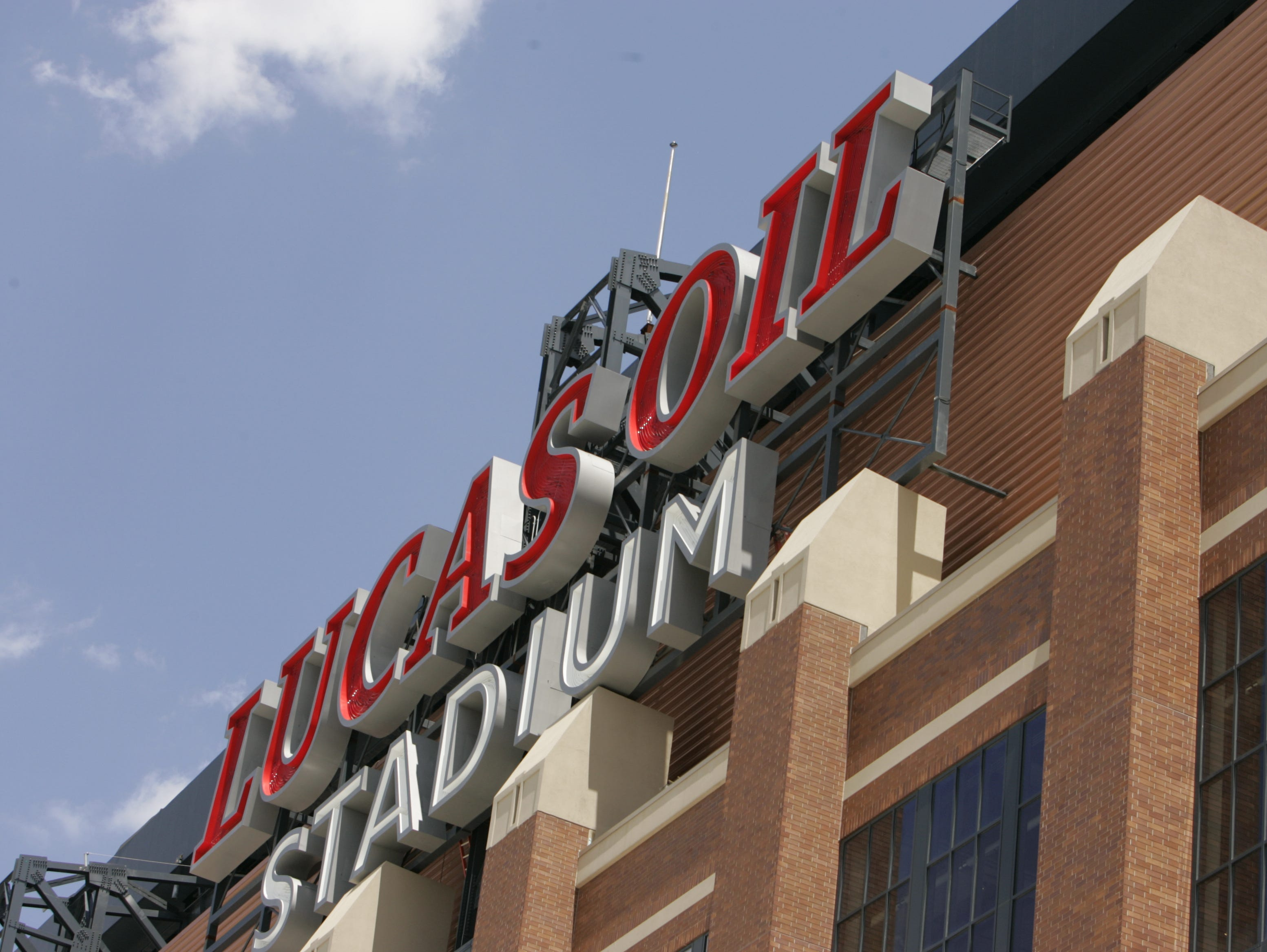 Lucas Oil Stadium will host 2015 state high school football finals on Friday and Saturday.