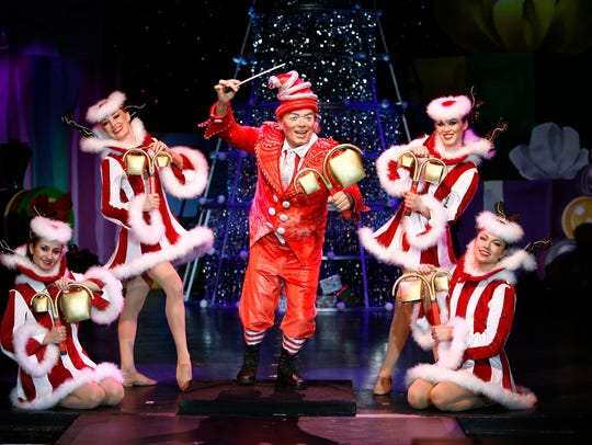 Cirque Dreams Holidaze, running Dec. 15-20, 2015, at