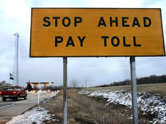 Indiana toll