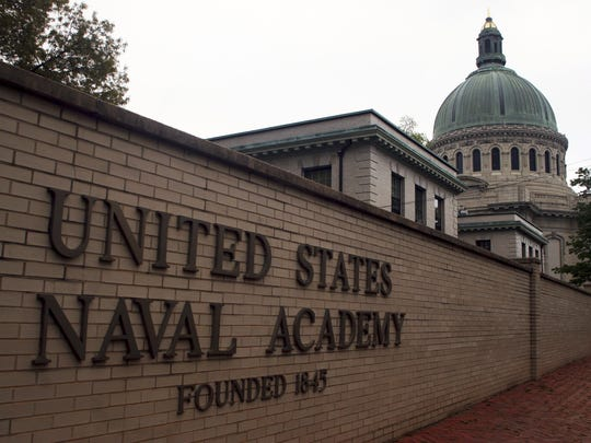 The U.S. Naval Academy's acceptance rate was less than 8 percent in 2013.