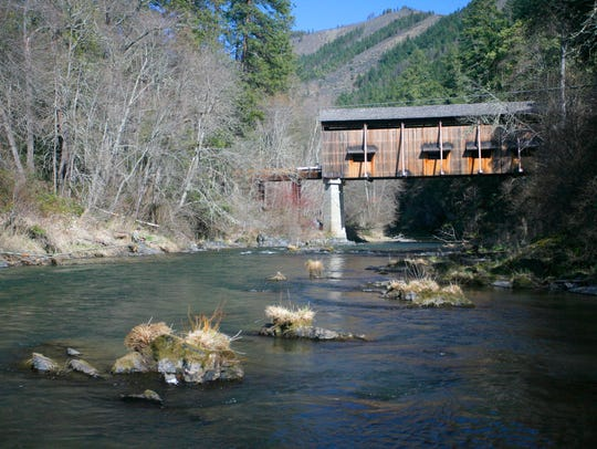 Mckee Covered Bridge County Park is a good public access