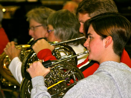The French horns will be bellowing when The Tallahassee Winds performs on Tuesday night at FSU.