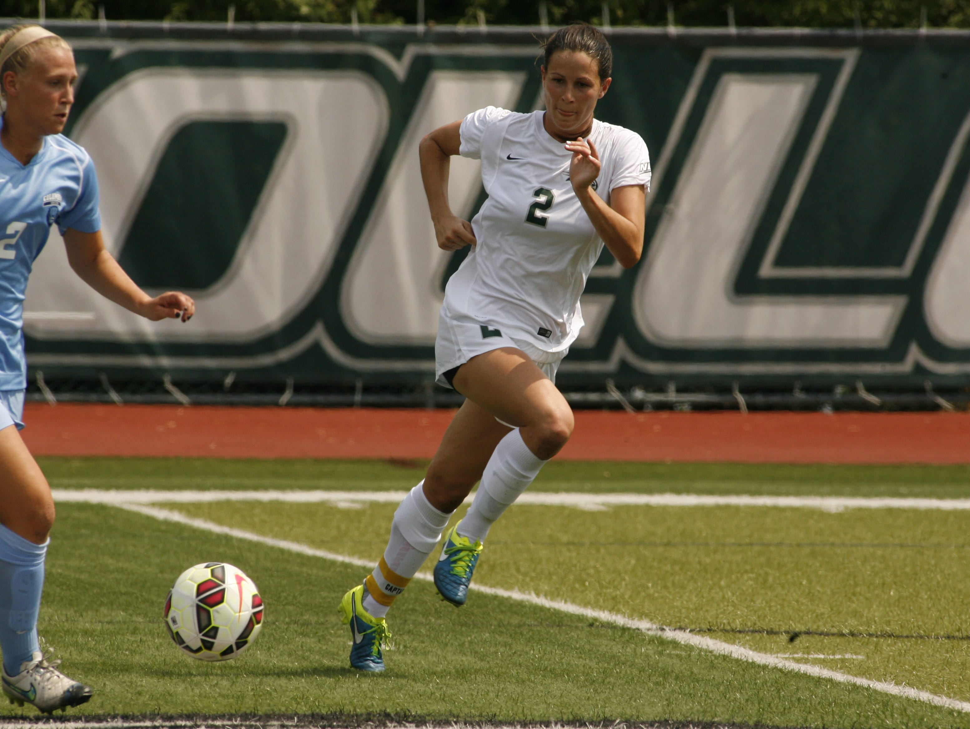 Wagner College junior Megan Fritz, a Mariner alum, was named the Northeast Conference's women's soccer player of the year last month.