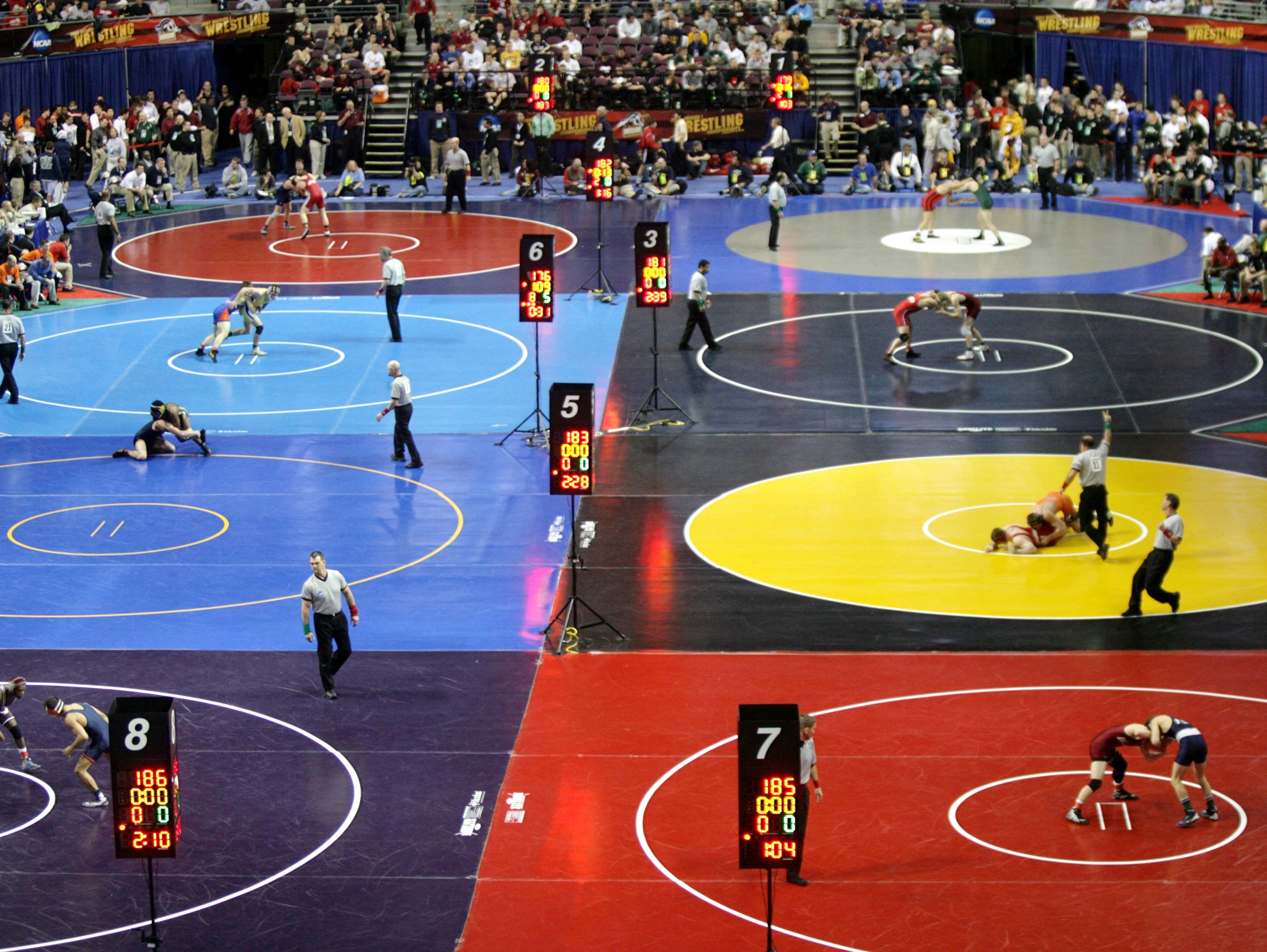 The 2007 NCAA Division I Wrestling Championships on March 15, 2007, at the Palace of Auburn Hills.