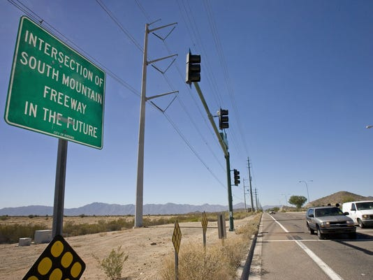 South Mountain Freeway suits