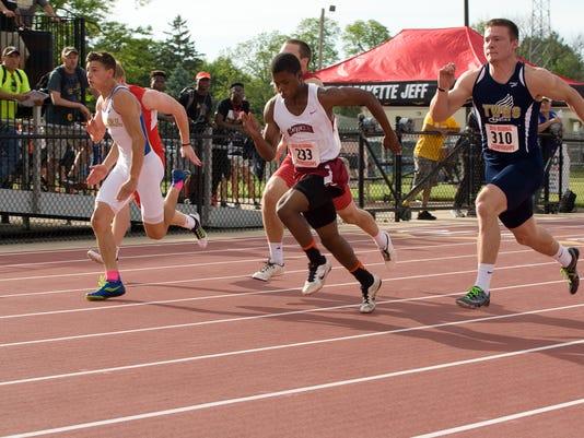 Boys Lafayette Jeff Regional Track meet