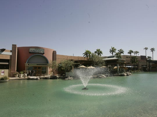 The River commercial center in Rancho Mirage.