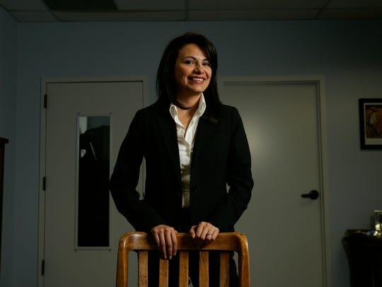 Patti Solis Doyle at the Clinton campaign headquarters