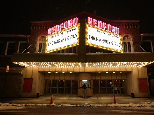 The Redford Theatre, shown here in 2011, is hosting