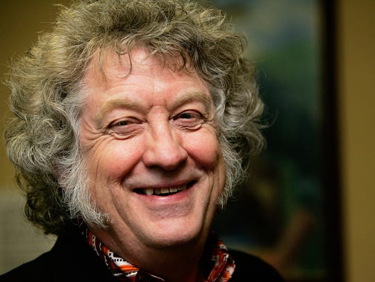 Slade's Noddy Holder poses for a portrait session during