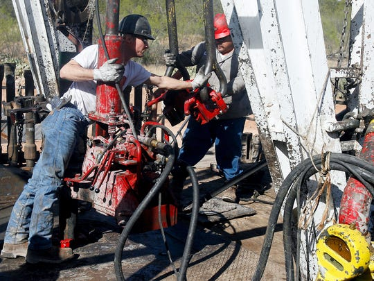 San Patricio County lost 1,300 jobs in just one quarter, according to a report by the San Patricio Economic Development Corp. The agency hopes it can bounce back by securing an ExxonMobil ethylene steam cracking plant, one of about 12 prospective firms that have recently explored setting up shop in the county.