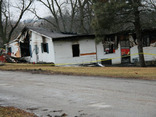 A house fire in Hartford was determined to be arson, according to the Warren County Sheriff's Office. A body was also found in the home.