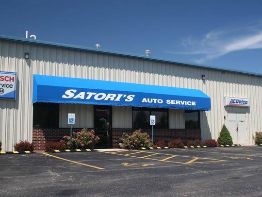 Satori's Auto Service is at 1620 N. 30th St., Manitowoc.