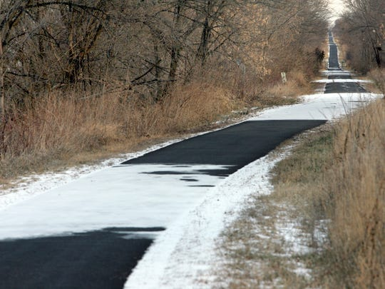In cold or warm weather, the Raccoon River Valley Trail northwest of the Des Moines metro area provides dozens of miles available for runners and bikers.