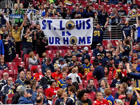 st louis sues nfl all 32 teams over rams 39 relocation to los angeles. Black Bedroom Furniture Sets. Home Design Ideas