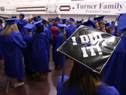Hillcrest High School graduation ceremony