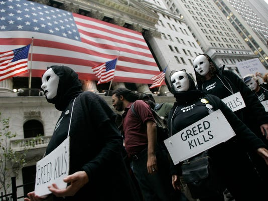 Wall St. protesters