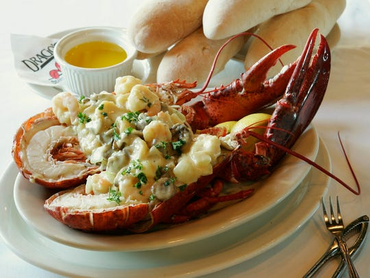 Drago's offers Maine lobster in addition to Gulf seafood.