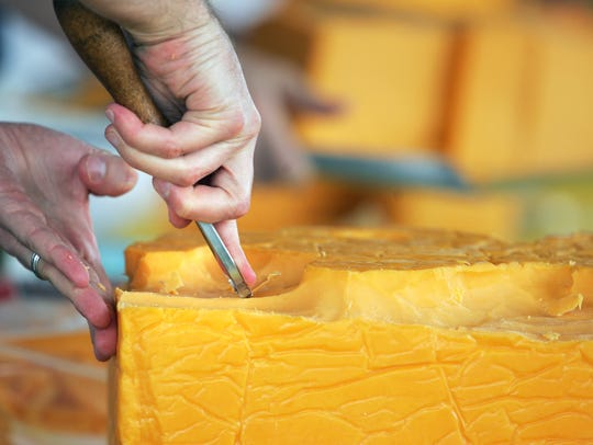 Year-over-year growth during the period was the lowest for a consecutive three-month period in more than a year for American-type cheese, Cheddar cheese in particular.
